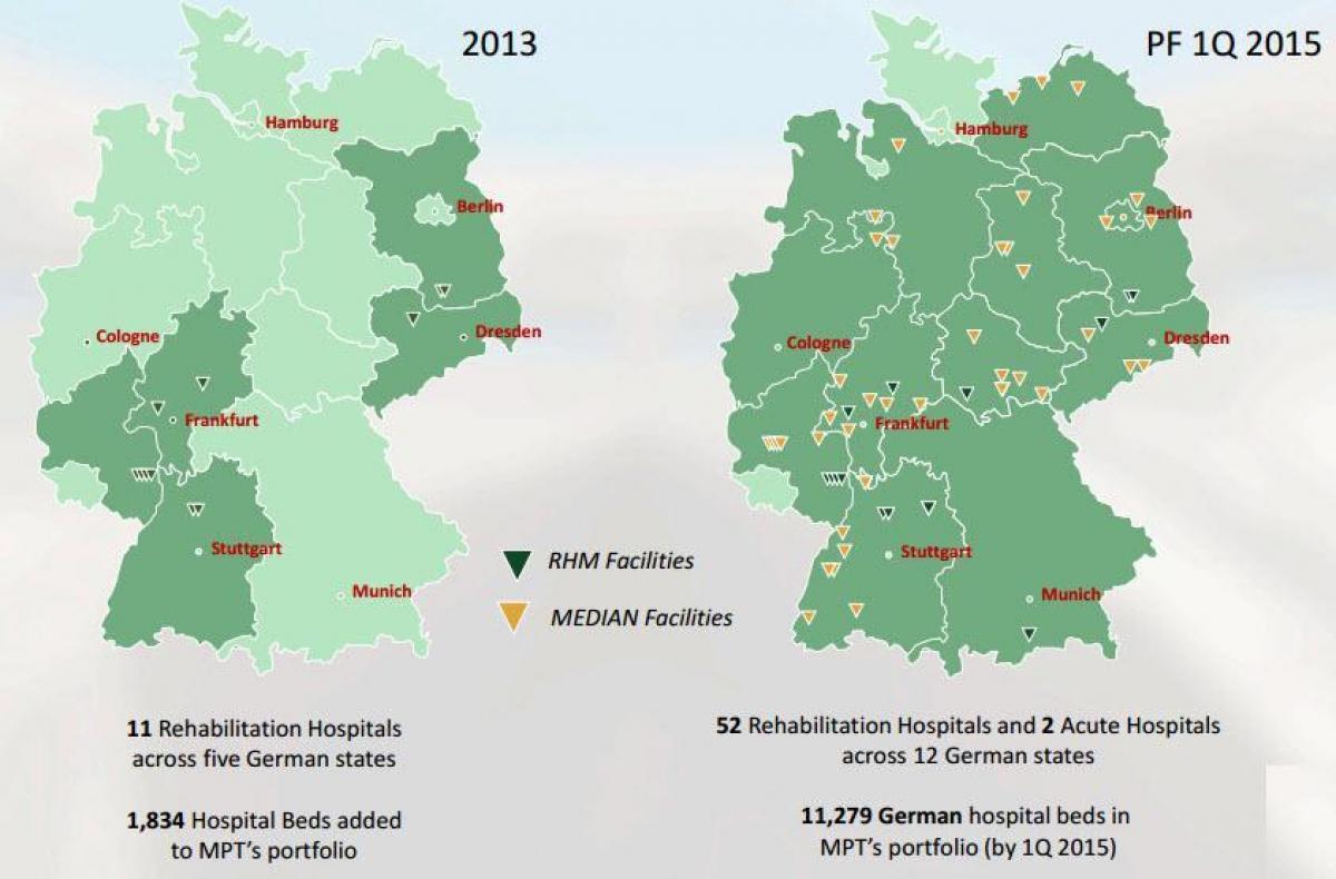 dresden karta Německo nemocnici mapa   Mapa Německa nemocnice (Západní Evropa  dresden karta